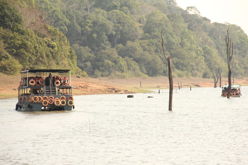 Periyar National Park on a alleppey houseboat day cruise with Spice Routes