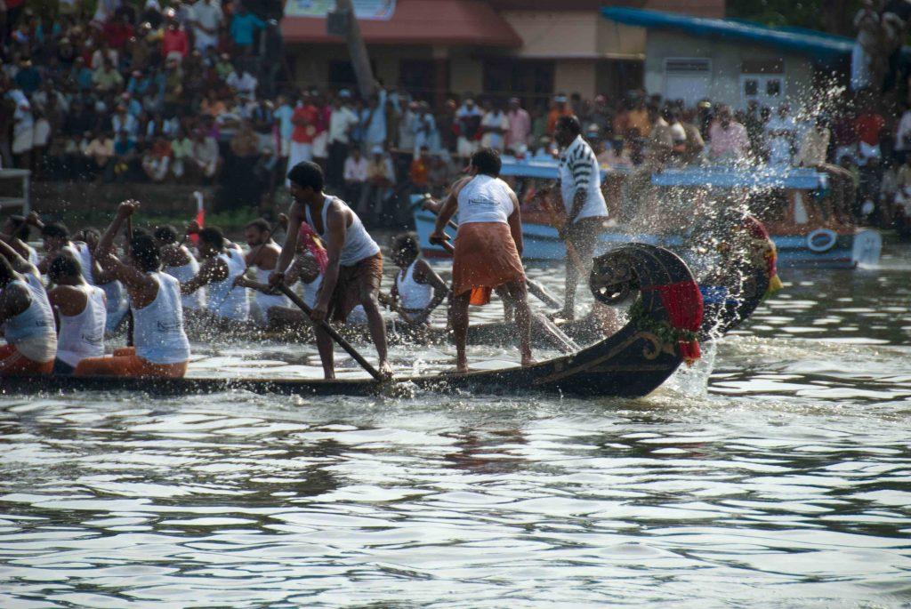 Snake boat race in Alleppey