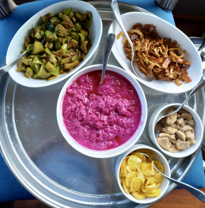 Food on Spice Routes Alleppey Cruises