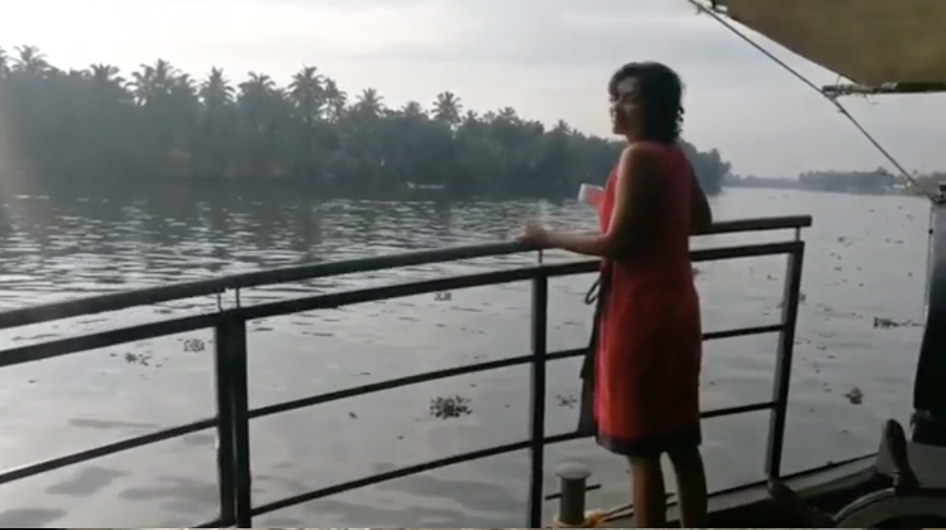 Amala Paul at Spice Routes Luxury Cruises