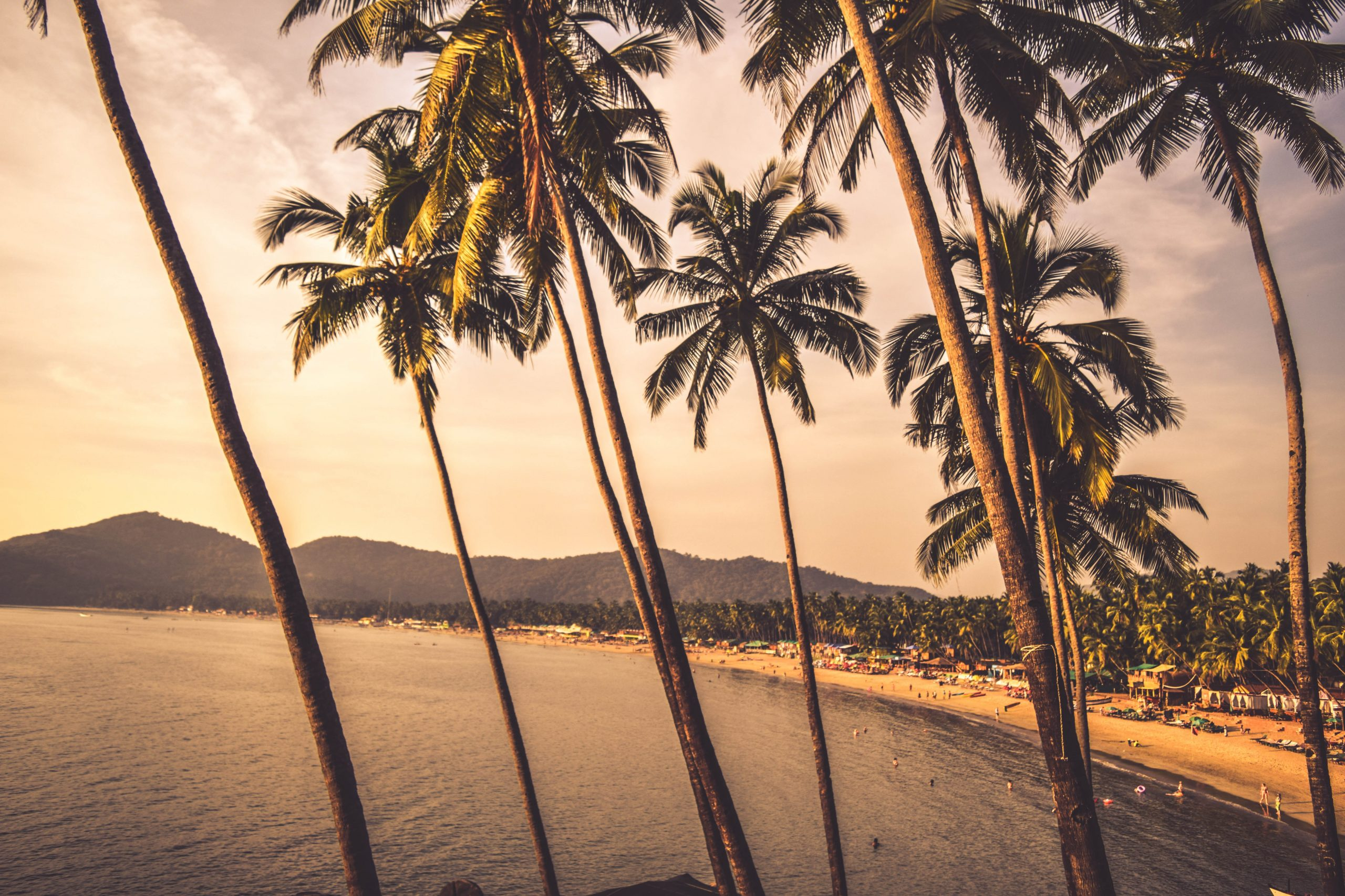 Endless beaches of Kerala